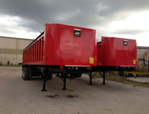 New Warren Steel Dump Trailer WRDT-3232-SS-2