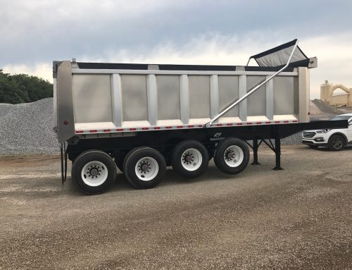 24 ft Aluminum Dump Trailer