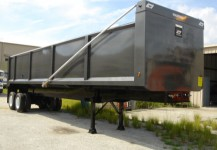 Steel Scrap and Demolition Dump Trailer Gallery