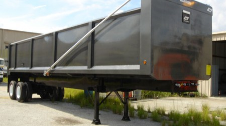 Steel Demolition & Scrap Dump Trailers