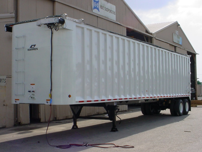 Steel Live Floor Trailers Warren Equipment Inc