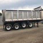 24 ft Aluminum Dump Trailer