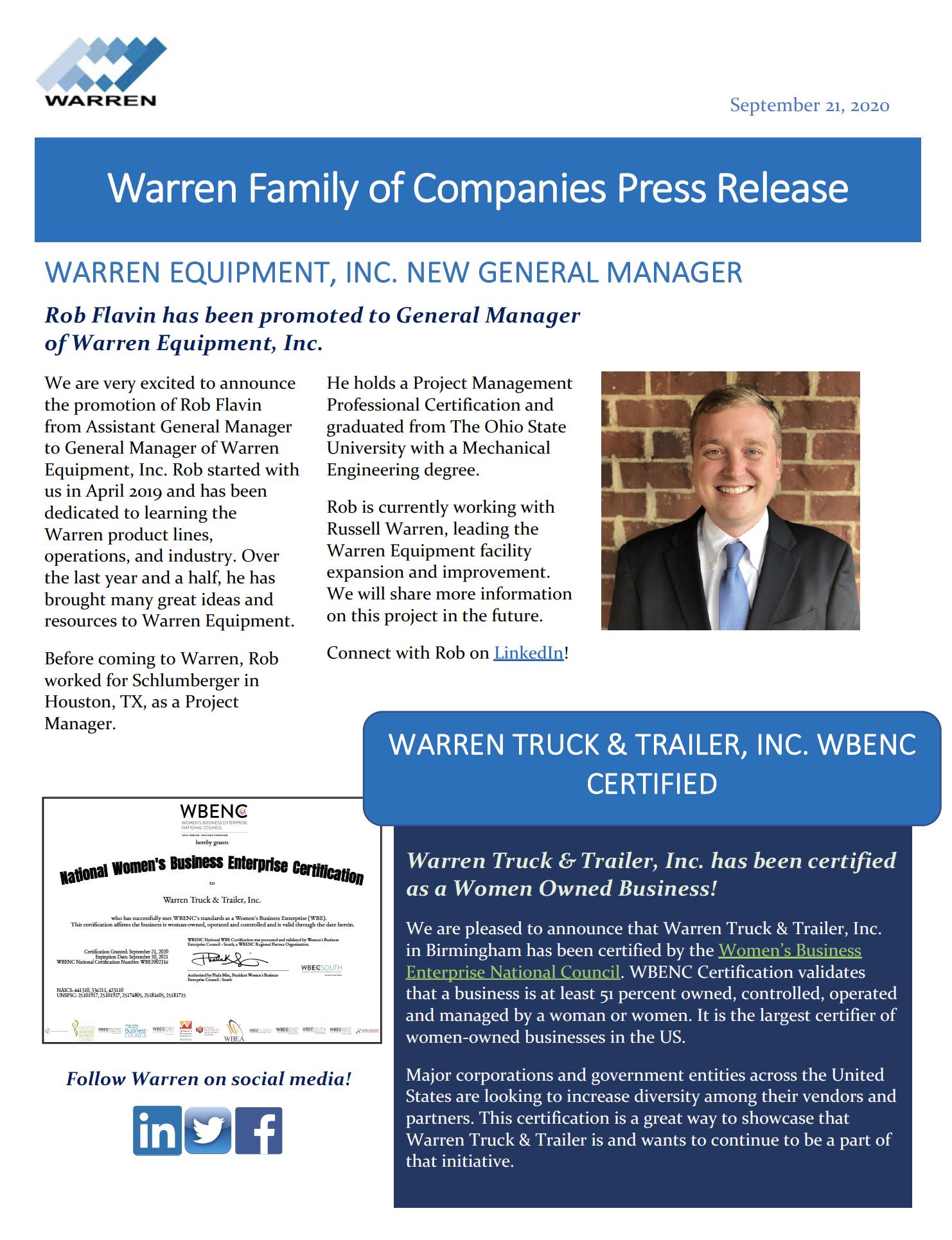 9.21.20 Press Release