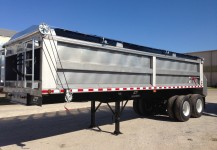 Stainless Steel Sludge Trailers